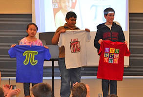 mill creek elementary student breaks school's pi record; recites 550 digits